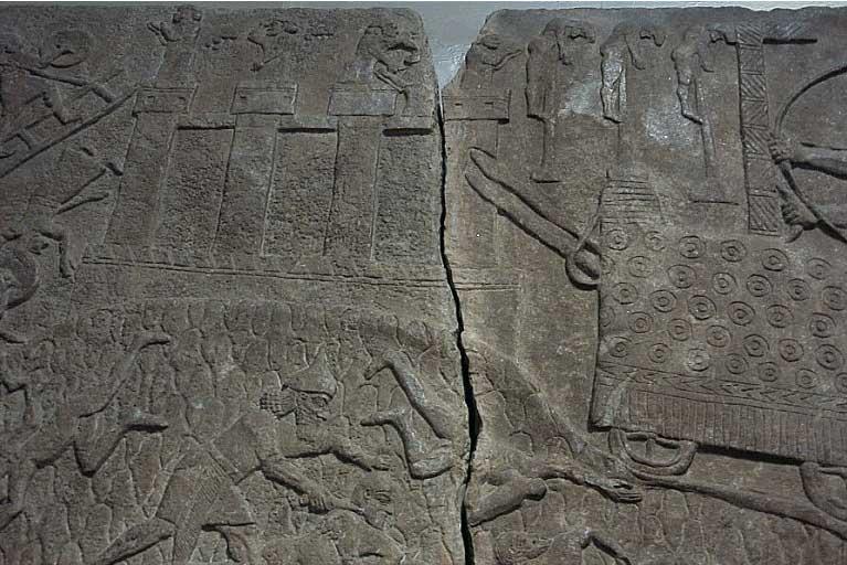 Ancient Assyrian Battering Ram